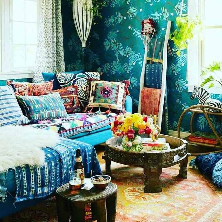 Hippie Living Room Decor Ideas Leadersrooms