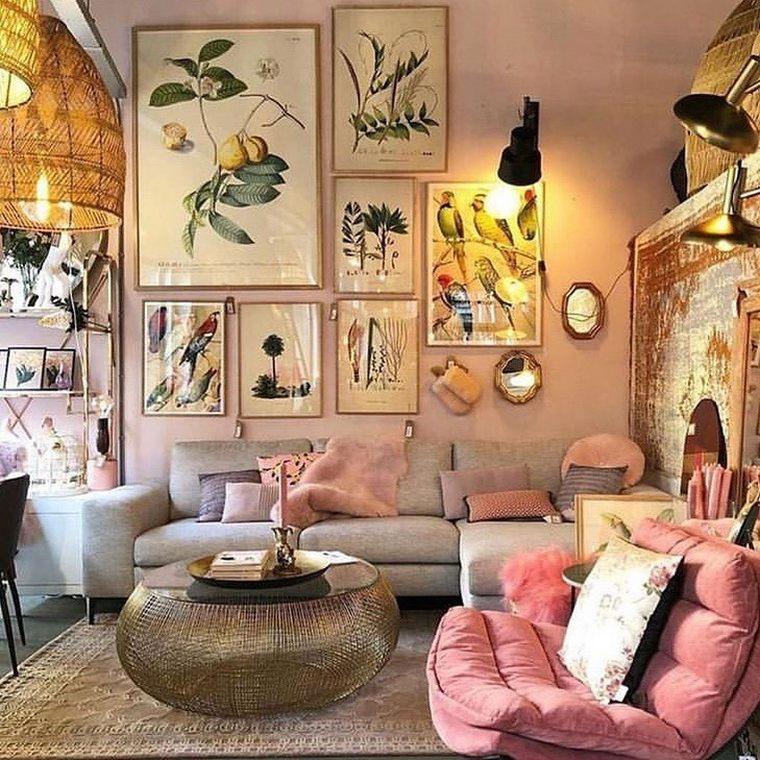 Pro Ideas For Bohemian Living Room Hippie Boho Gypsy