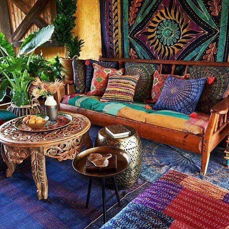 Boho Gypsy Living Room