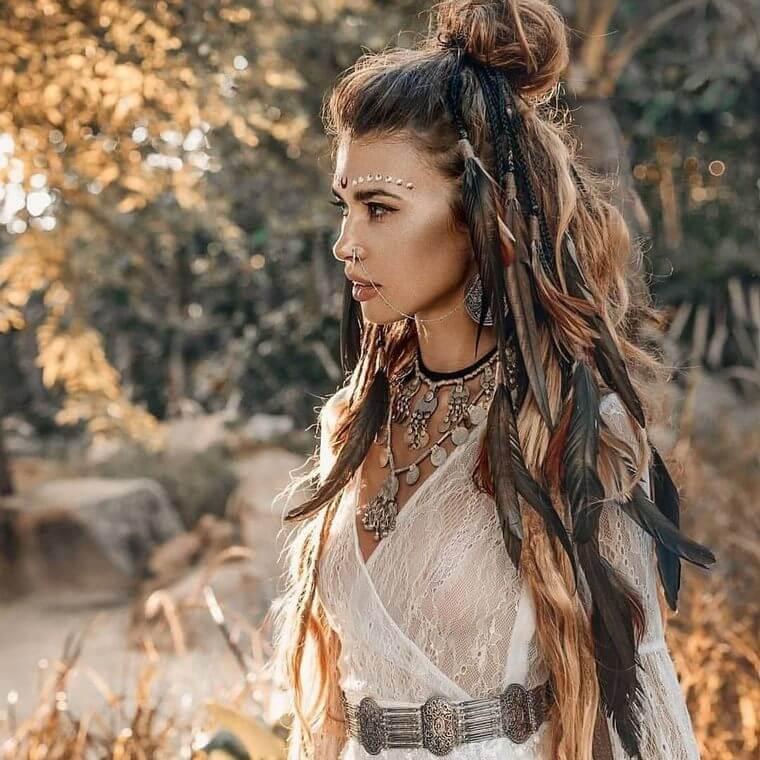 Not To Miss Boho Style Hairstyles Hippie Boho Gypsy