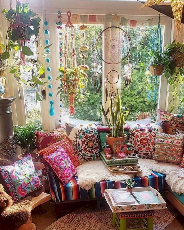 80+ Ideas for Boho Style Furniture and Decor | Hippie Boho ...