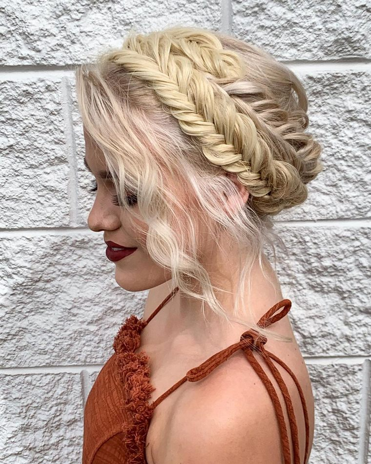 Bohemian Hairstyles For Short Long Hair Hippie Boho Gypsy