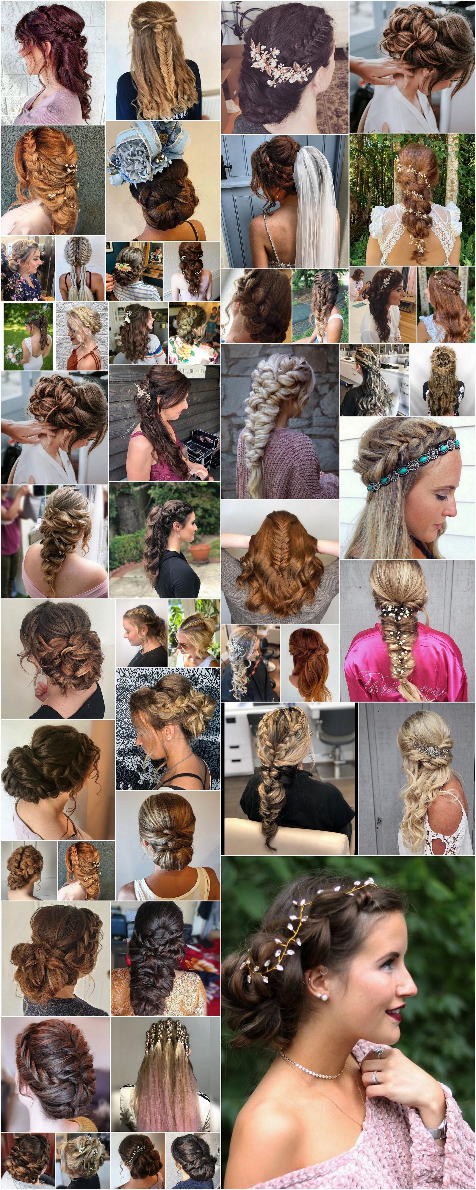 Bohemian Hairstyles For Short Long Hair Hippie Boho Gypsy